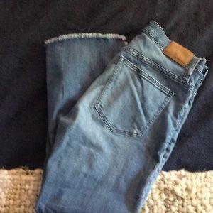 Jcrew size 30 Billie Demi Boot Crop